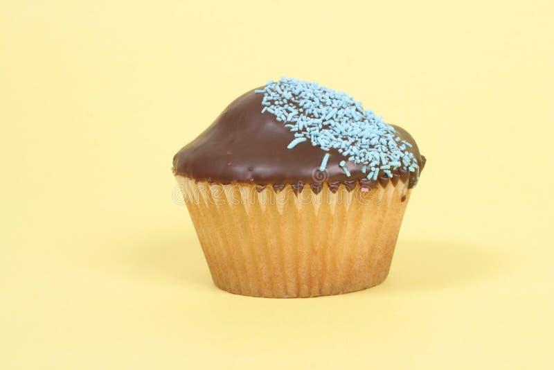 Enige Cupcake royalty-vrije stock foto's