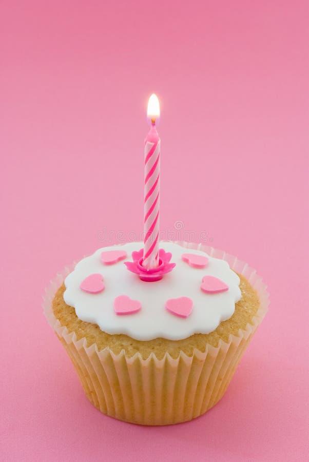 Enige Cupcake stock afbeeldingen