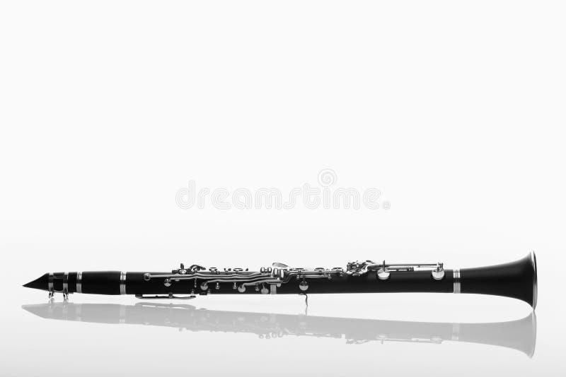 Enige klarinet stock afbeeldingen