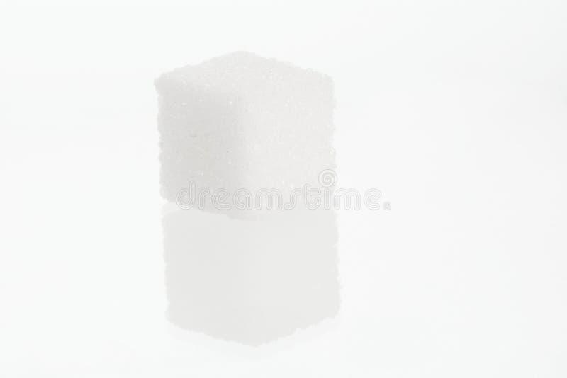 Enige suikerkubus royalty-vrije stock foto