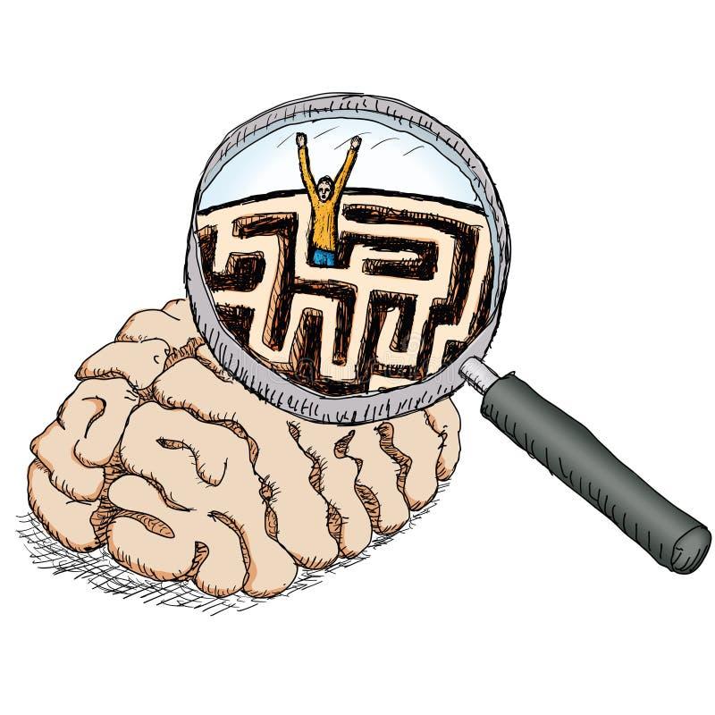 Enigma stock de ilustración