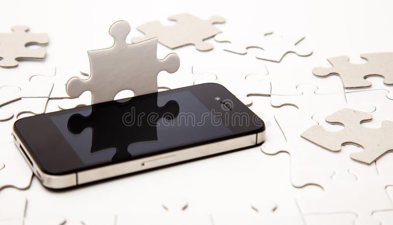 Enigma branco fotos de stock