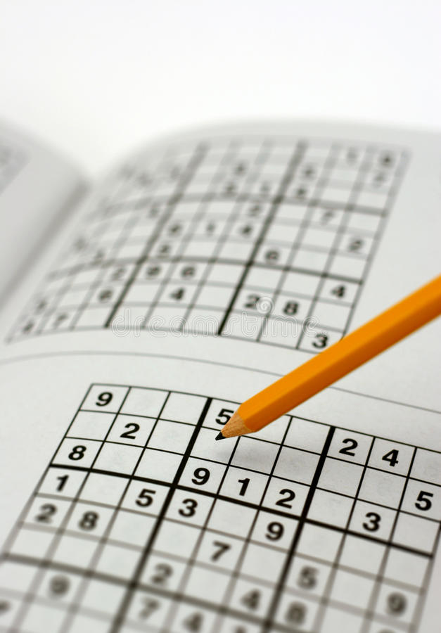 Enigma de Sudoku foto de stock