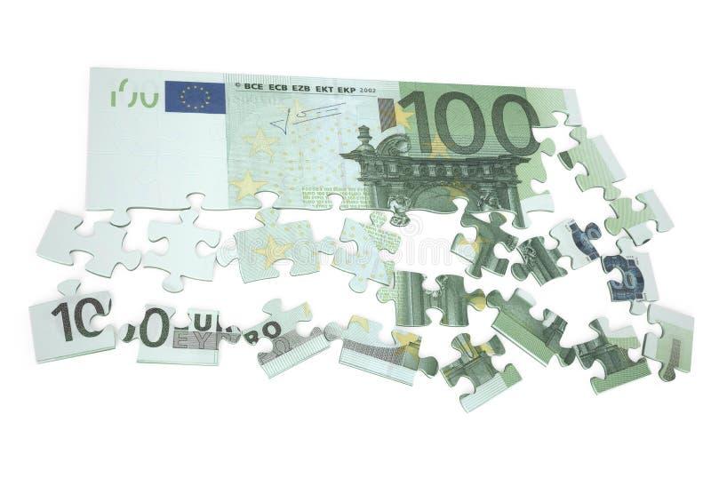 enigma 2 do euro 100 ilustração royalty free