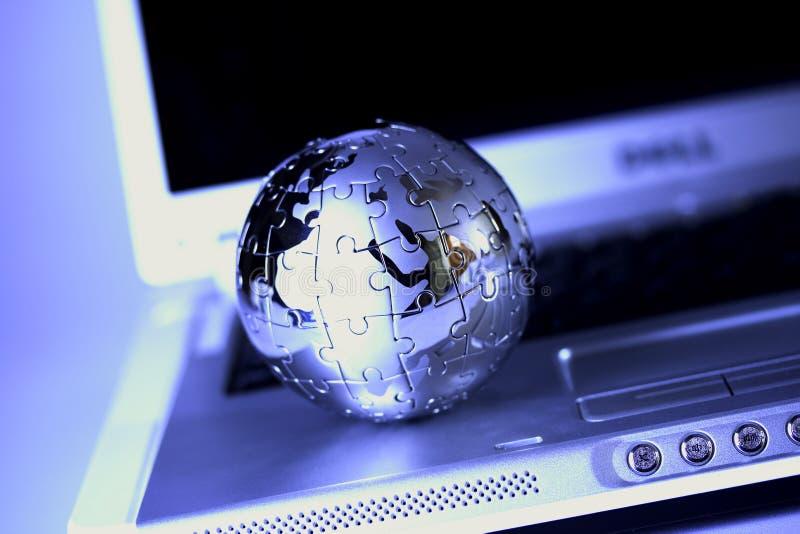 Enigma do globo fotos de stock