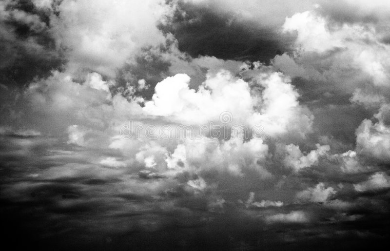 Enigmatic Clouds royalty free stock photo