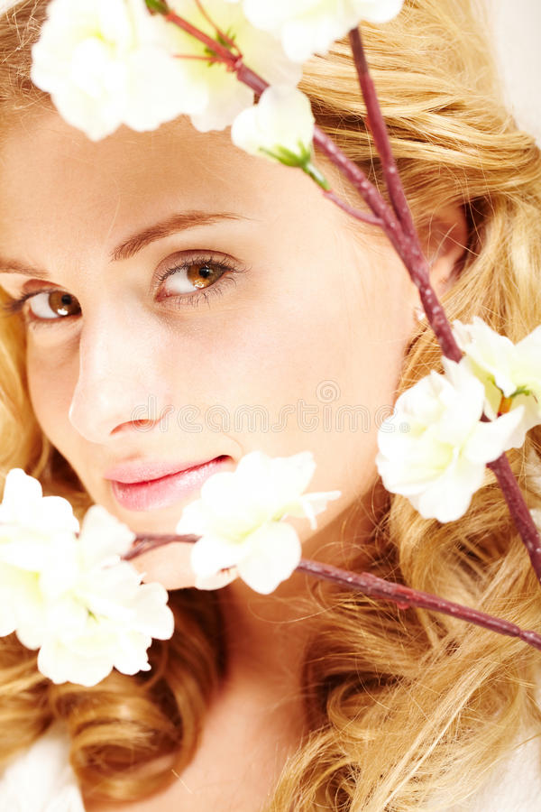 Download Enigmatic lady stock image. Image of closeup, enigmatic - 24739565