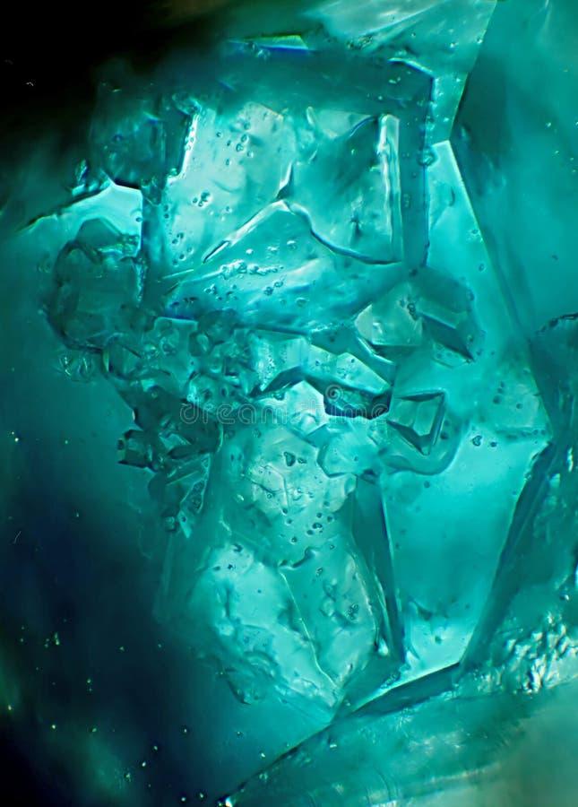 Enigmatyczny świat kryształy obraz royalty free
