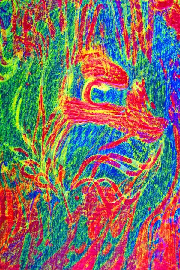 Enigmatyczny Abstrakt obrazy royalty free