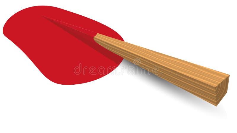 Enjeu en bois illustration libre de droits