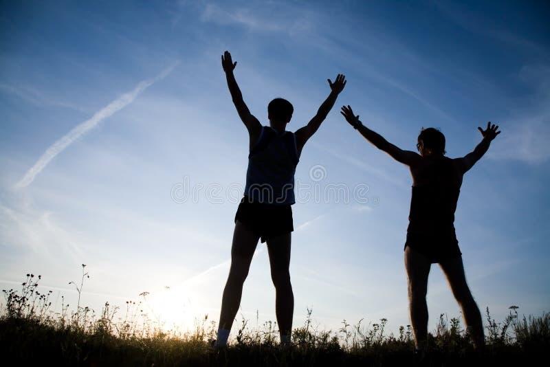 Download Enjoy stock photo. Image of beautiful, leisure, silhouette - 11704286