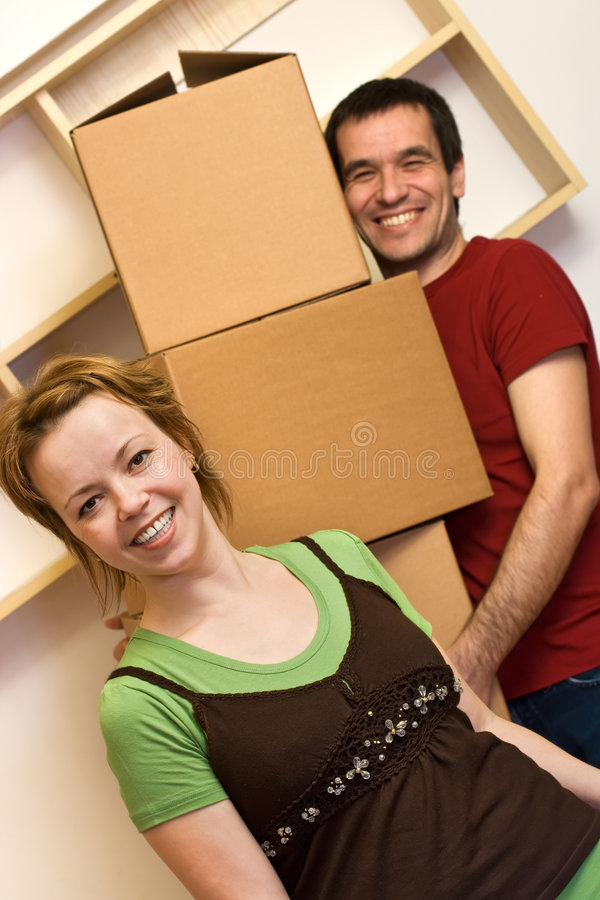 Download Enjoy the chaos of moving stock image. Image of flat, moving - 9133021