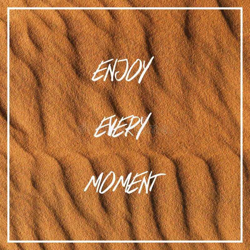 Enjoy Every Moment Stock Photos