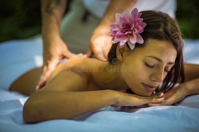 Enjoy in life and care about your body. stock photo