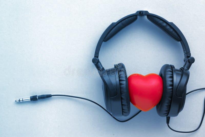 Enjoy lyssnar musik royaltyfri foto