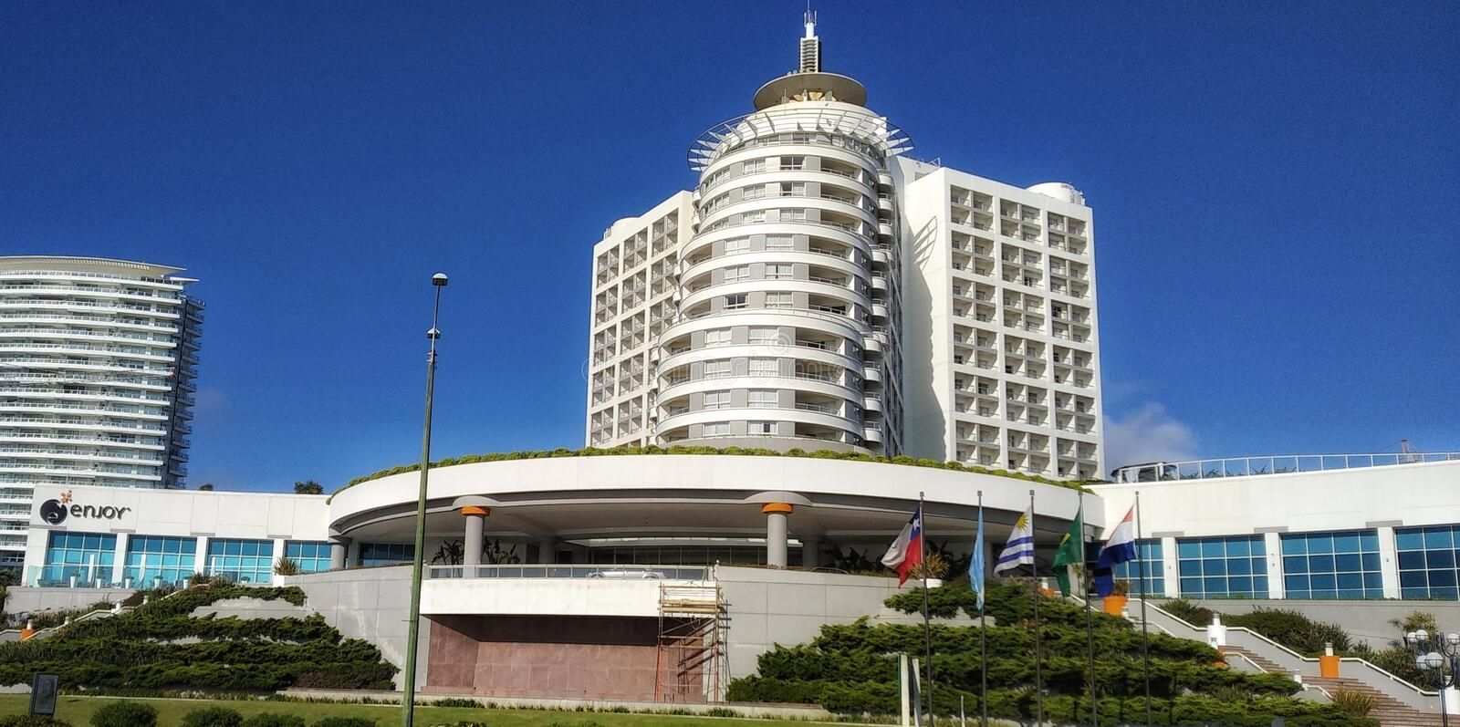 Enjoy Punta del Este stock image