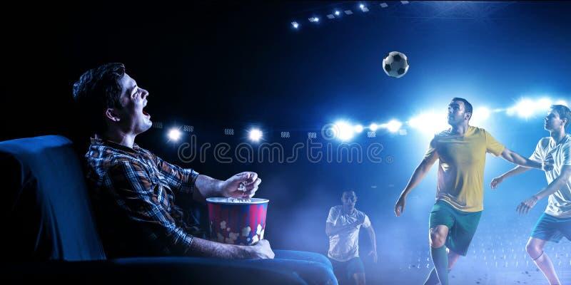 Enjoy the reality of game. Mixed media stock photo
