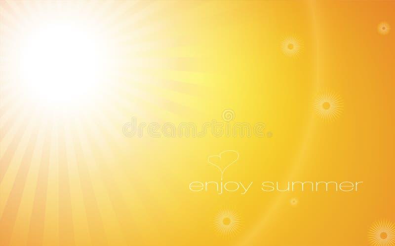 Download Enjoy summer stock illustration. Image of glow, font - 15171156