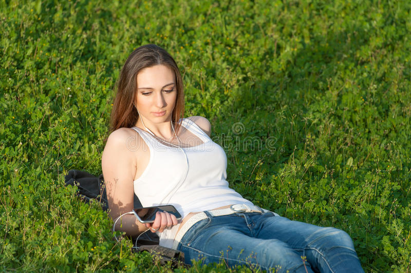 Enjoy the sun royalty free stock images