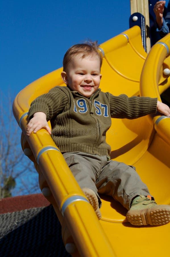 Free Enjoy The Slide! Stock Image - 2107951