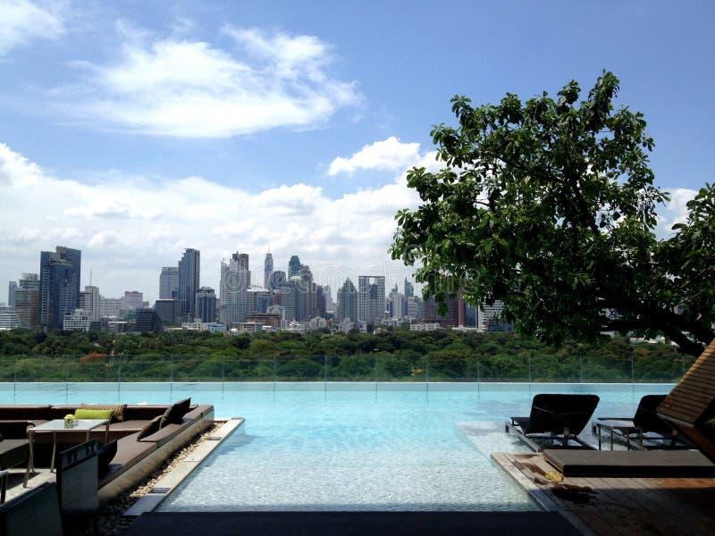 Enjoy urban view royalty free stock photo