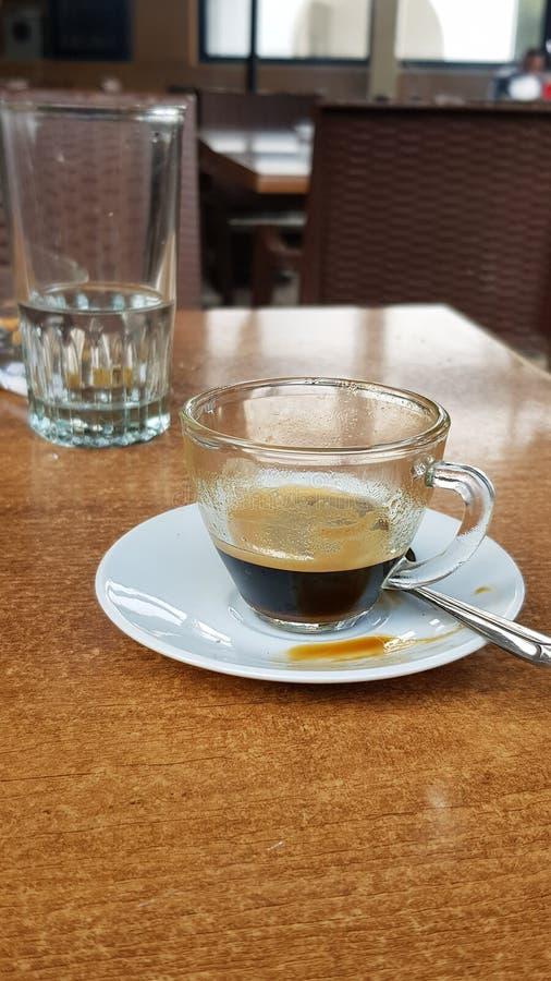 Enjoy your espresso stock photos