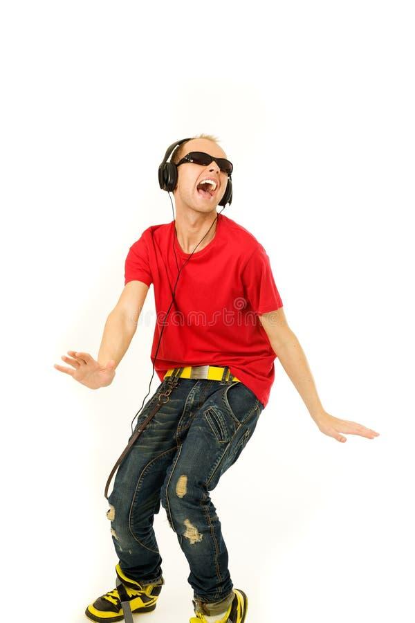 Download Enjoying music stock image. Image of hand, relaxation - 25508537