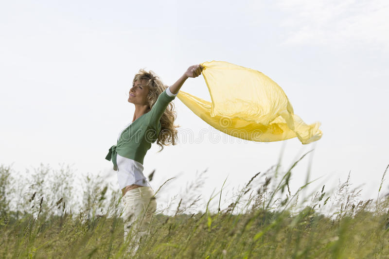 Download Enjoying Nature stock photo. Image of playful, 25, fashion - 26556908