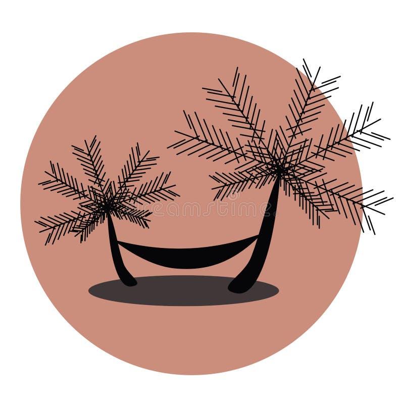 Download Enjoying Summer In A Hammock Stock Vector - Illustration: 32874741