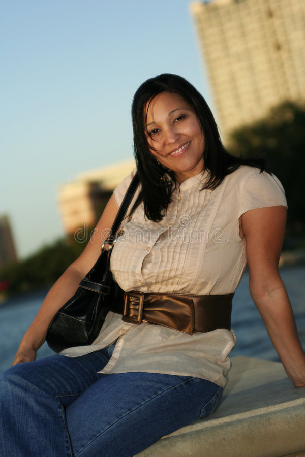 Download Enjoying Sunset 1 stock image. Image of ordinary, free - 1433233