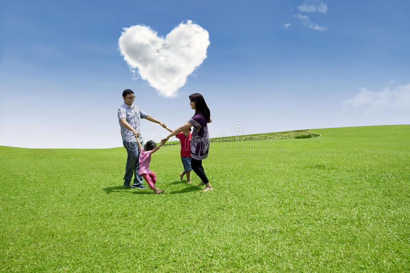 Download Enjoying Valentine's Day With Family Stock Images - Image: 29096404