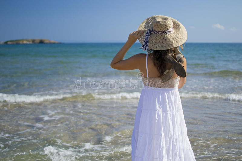 Download Enjoying the view stock photo. Image of outdoors, girl - 25986246