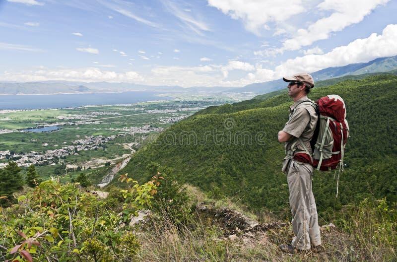 Download Enjoying the Views stock image. Image of nature, cloud - 20418133