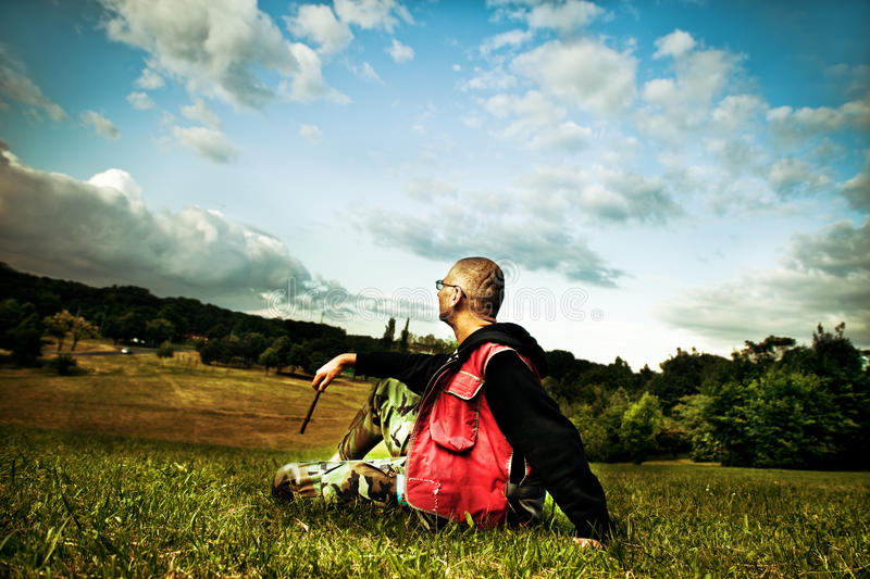 Download Enjoyment stock photo. Image of free, scenery, field - 14325490
