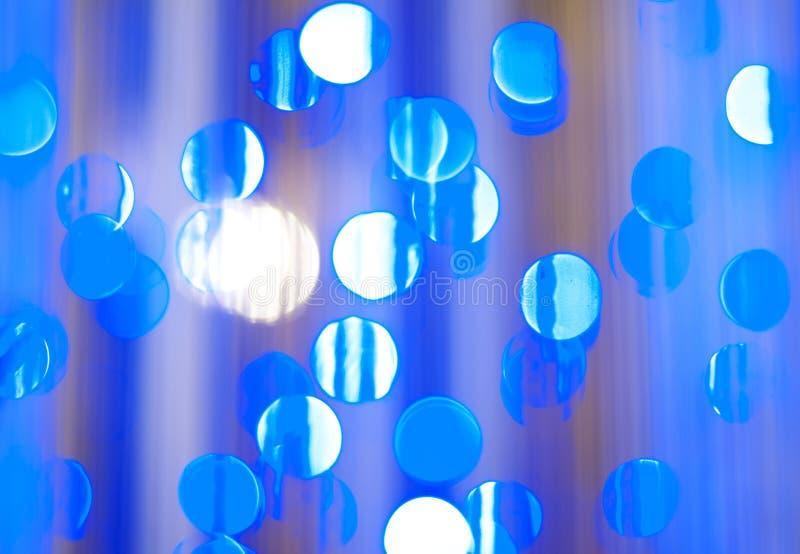 enkel att använda blå bokeh för bakgrund arkivfoton