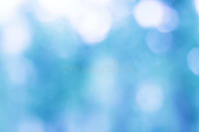 enkel att använda blå bokeh för bakgrund royaltyfri bild