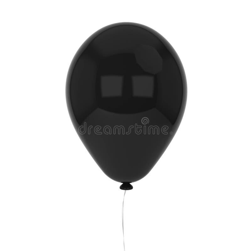 Enkel baloon royaltyfri illustrationer