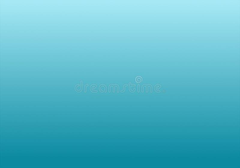 Enkel blå för himmel & vit abstrakt bakgrund med radiell lutningeffekt vektor illustrationer