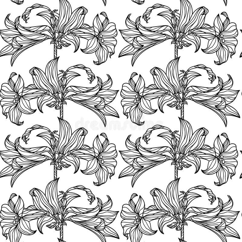 Enkel blom- modell royaltyfri bild