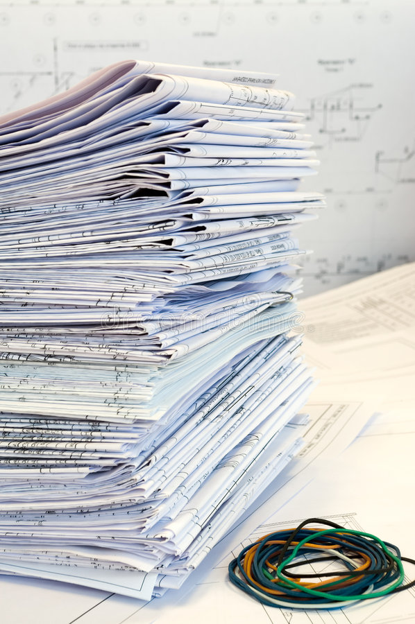 enkel brevpapper för teckningsprojektark arkivfoto