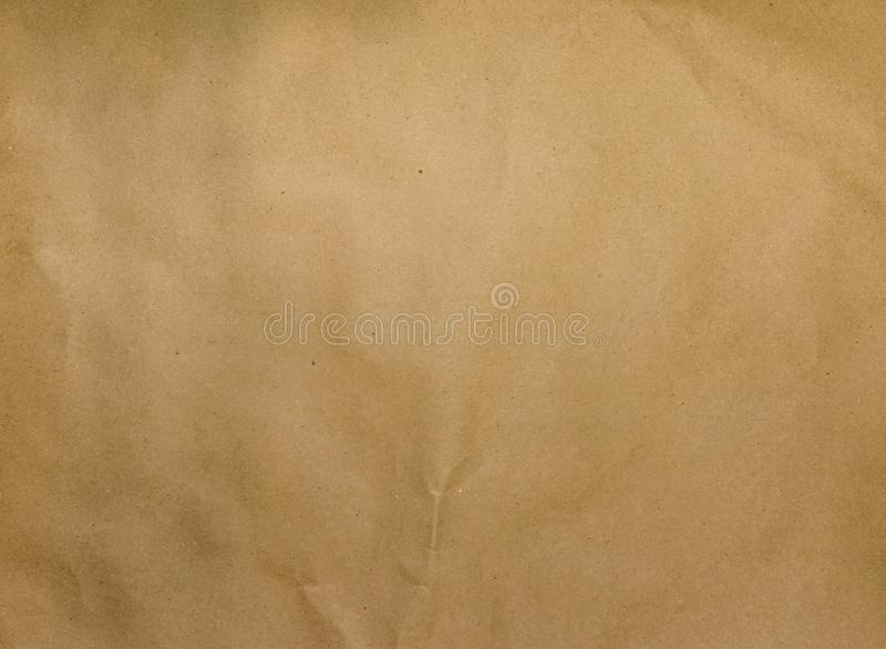 Enkel geometrisk bakgrund av Kraft brunt papper Det bästa beskådar Närbild vektor illustrationer