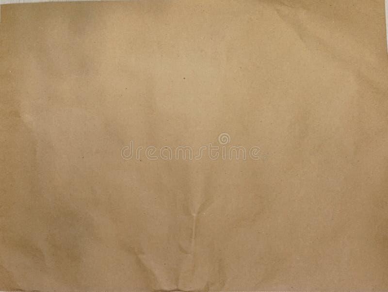 Enkel geometrisk bakgrund av Kraft brunt papper Det bästa beskådar Närbild stock illustrationer