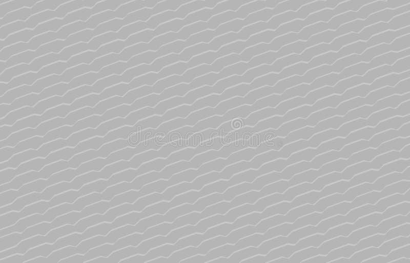 Enkel grå färgbakgrund, modern svart grå bakgrund, konstlinjen den mörka tapeten för formsicksackklottret, göra ett hack i  vektor illustrationer