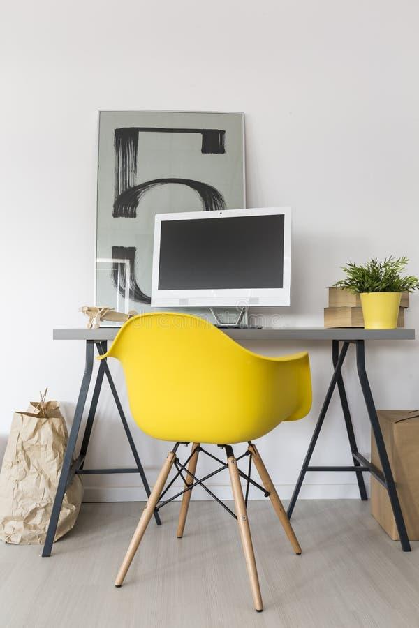Enkel idé för område för hem- studie royaltyfri foto