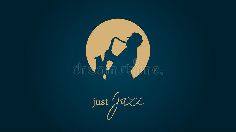 Enkel Jazz stock illustratie