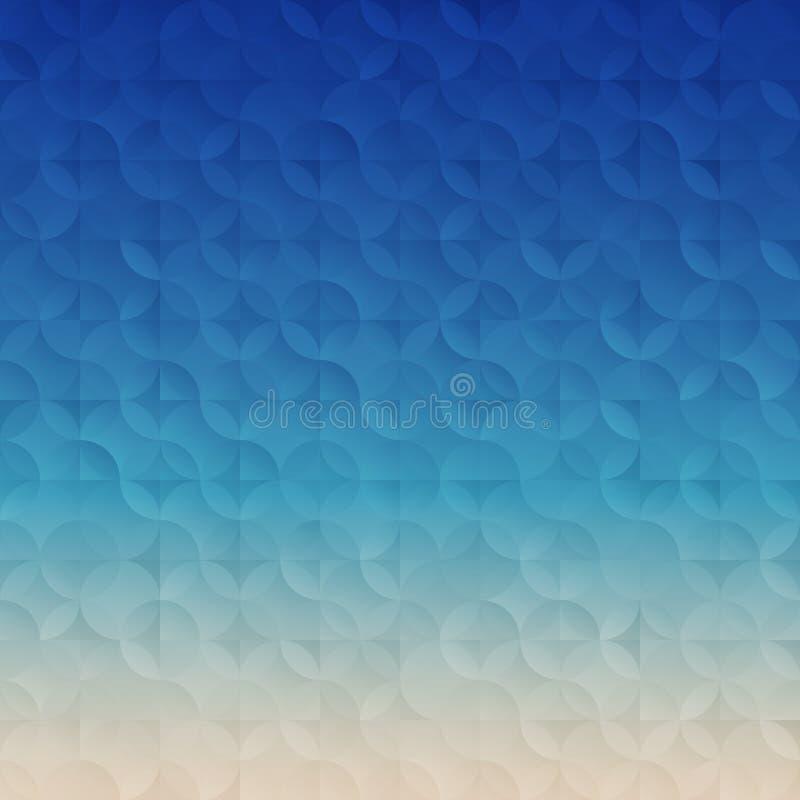Enkel lutningteknologibakgrund stock illustrationer