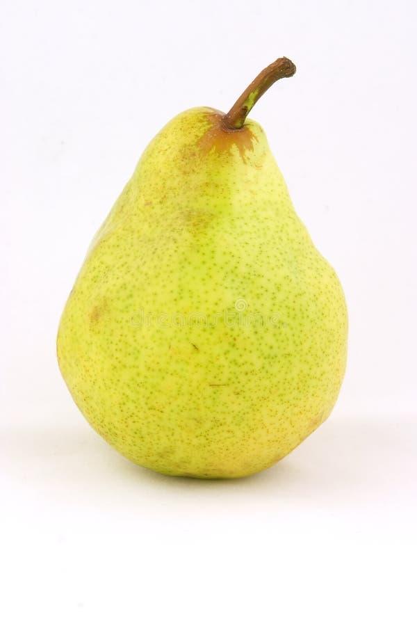 enkel pear arkivbild