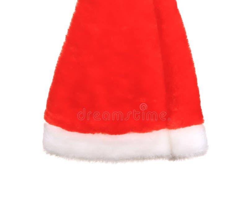 Enkel Santa Claus röd hatt arkivbilder