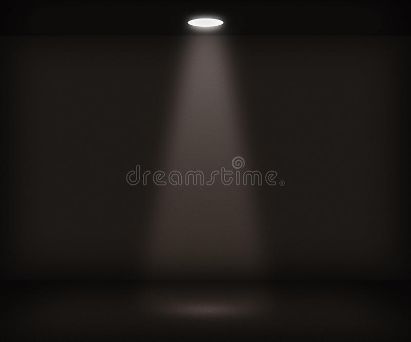 enkel strålkastare för bakgrundslokal vektor illustrationer