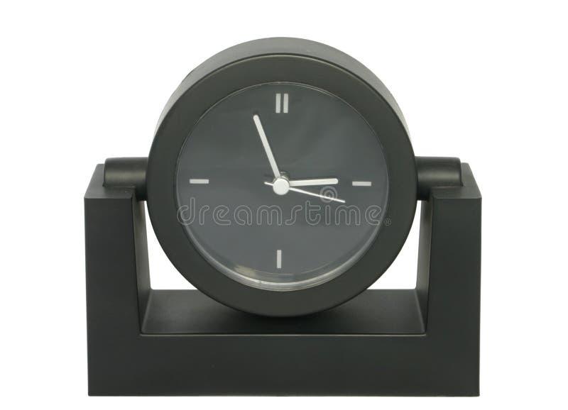 enkel tabell för klocka arkivfoto